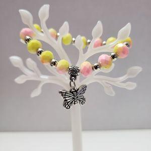 Butterfly Children's stretch bracelet